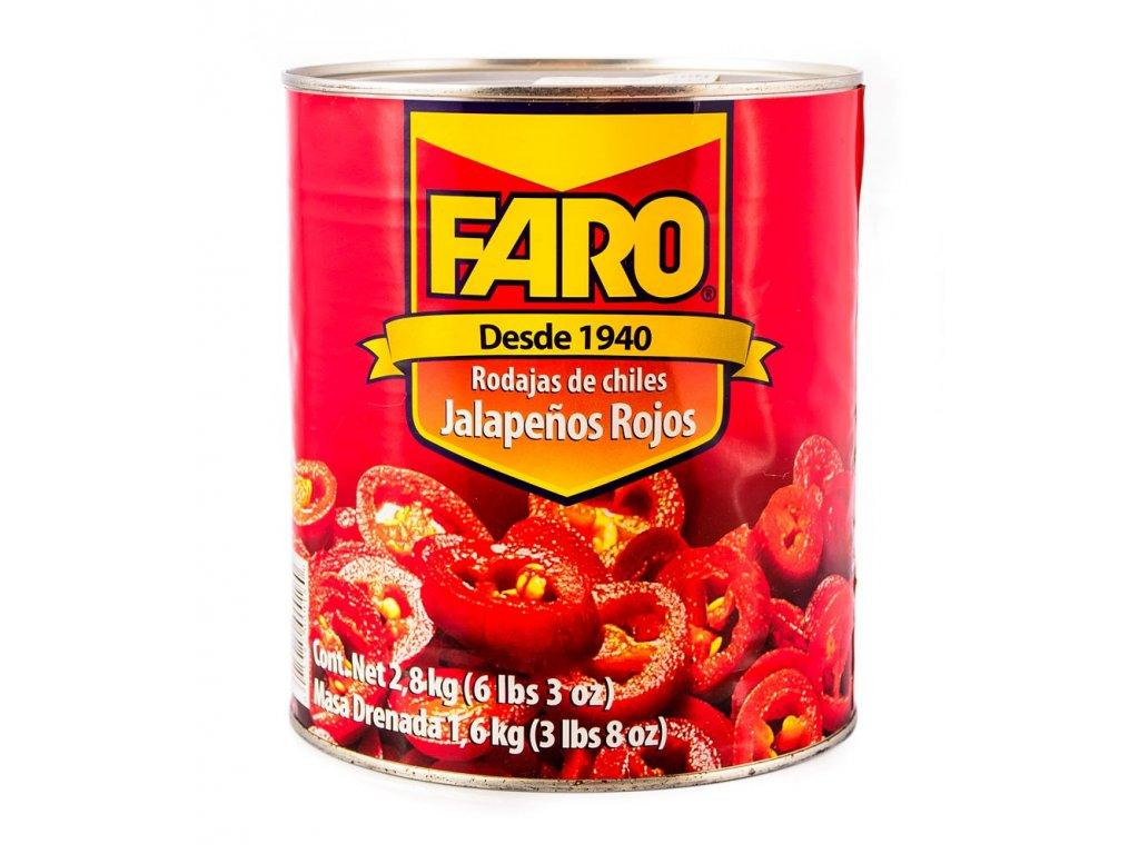 Red Sliced Jalapenos 2.8kg