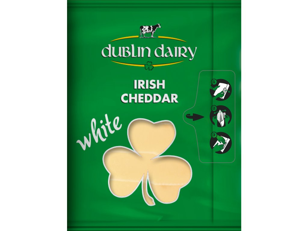 Dublin Dairy Cheddar White slices