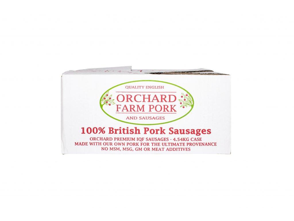 113 120 pork sausages 4 54kg