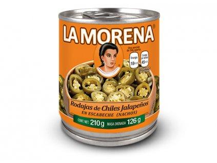 LaMorena producto chiles rodajas jalapenios