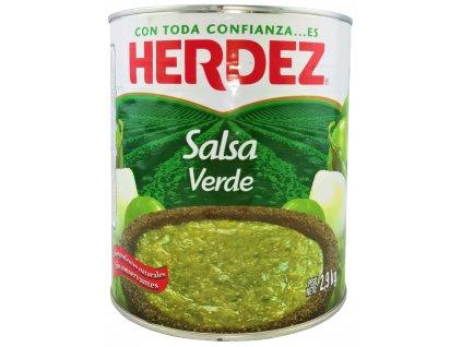 GRS Salsa Verde Herdez grüne Tomatensauce 2,9 kg