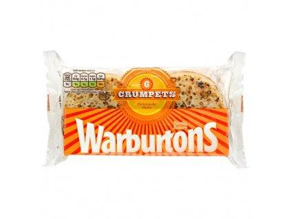 Warburtons Crumpets 6pcs (Pack size 336g)
